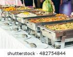 food wedding cater | Shutterstock . vector #482754844