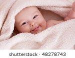 sweet baby girl | Shutterstock . vector #48278743