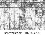 white brick wall background in...   Shutterstock . vector #482805703
