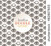 indian ethnic seamless pattern... | Shutterstock .eps vector #482807833