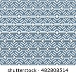 seamless light blue hexagonal...