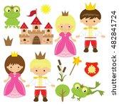 fairy tale vector illustration   Shutterstock .eps vector #482841724
