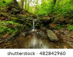 waterfall seoraksan national...   Shutterstock . vector #482842960