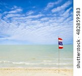 thailand beach  sea sand sky ...   Shutterstock . vector #482859583