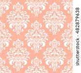 floral pattern. wallpaper...   Shutterstock .eps vector #482879638