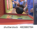 Whack A Mole Game At Amusement...