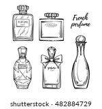 hand drawn vector illustrations ... | Shutterstock .eps vector #482884729