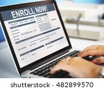 Small photo of Enroll Now Registration Membership Concept
