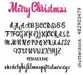 font merry christmas  ...   Shutterstock .eps vector #482903479