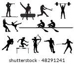 sport | Shutterstock .eps vector #48291241