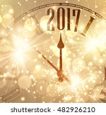 2017 new year shining... | Shutterstock .eps vector #482926210