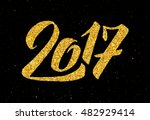 new year of the rooster... | Shutterstock .eps vector #482929414
