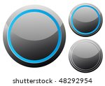 vector illustration of black... | Shutterstock .eps vector #48292954