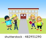 3d rendered illustration of... | Shutterstock . vector #482951290
