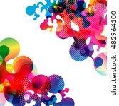 abstract background vector | Shutterstock .eps vector #482964100