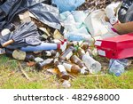 Illegal Dumping With Bottles ...