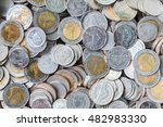 Thai Baht Coins. Coins Of...