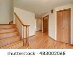 Hallway Interior With Hardwood...