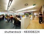 moscow   jun 03  2015  people...   Shutterstock . vector #483008224