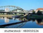 czech republic view of the town ... | Shutterstock . vector #483010126