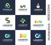 vector logo template for... | Shutterstock .eps vector #483015544
