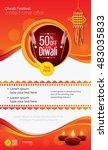 diwali festival offer poster...   Shutterstock .eps vector #483035833