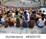 in the open theater | Shutterstock . vector #48305170
