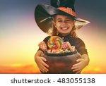 Happy Halloween  Cute Little...