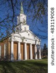 st. andrews presbyterian church ... | Shutterstock . vector #483119008