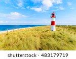 Ellenbogen Lighthouse On Sand...