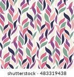 seamless hand drawn pattern... | Shutterstock .eps vector #483319438