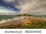 The Beach At Bantham During...