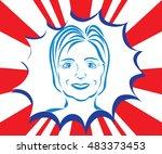 september 14  2016.... | Shutterstock .eps vector #483373453