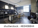 fashion and modern office... | Shutterstock . vector #483408844
