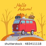 colorful illustration of... | Shutterstock .eps vector #483411118