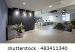 fashion and modern office... | Shutterstock . vector #483411340