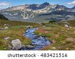 mountain trail | Shutterstock . vector #483421516