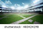 american football stadium | Shutterstock . vector #483424198