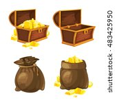 set of two bags and chests...
