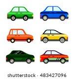 vector cars | Shutterstock .eps vector #483427096