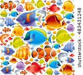 Seamless Sea Travel Icon Set ...
