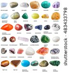 Various Tumbled Gemstones With...