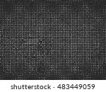 dots on background. black and... | Shutterstock .eps vector #483449059