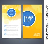 brochure template layout  cover ... | Shutterstock .eps vector #483500644