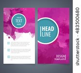 brochure template layout  cover ... | Shutterstock .eps vector #483500680