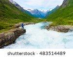 travel  beauty in nature.... | Shutterstock . vector #483514489