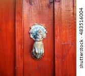 Vintage Door Knocker Like Hand...