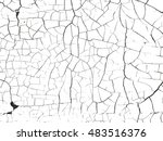 distressed overlay texture of... | Shutterstock .eps vector #483516376