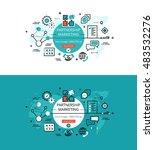 modern vector illustration... | Shutterstock .eps vector #483532276