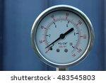 Pressure Gauge At Storage Tank...